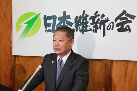 NHK「憲法記念日特集」 馬場伸幸幹事長出演のお知らせ