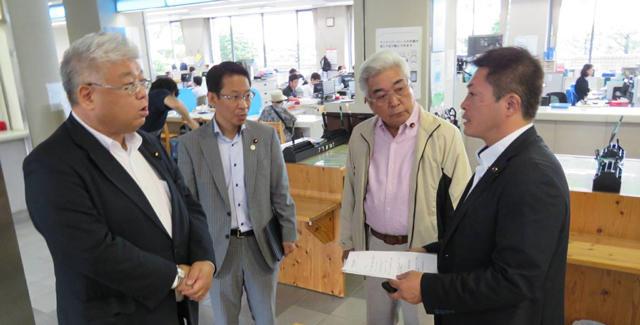 2017年7月19日(水) 九州地方視察