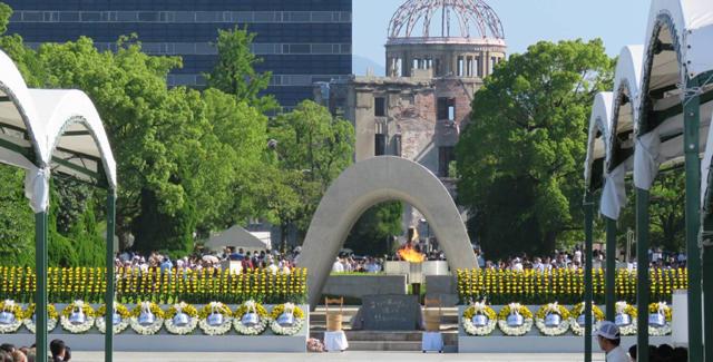 2017年8月6日~8月9日の広島県及び長崎県での式典出席