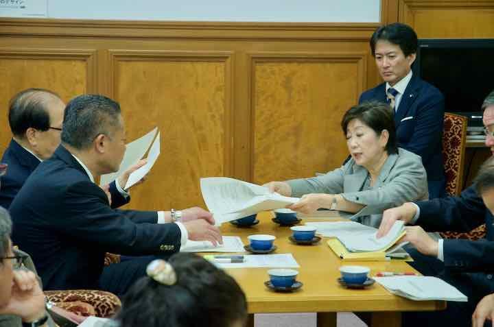 2018年11月13日(火)東京都知事国家予算要望