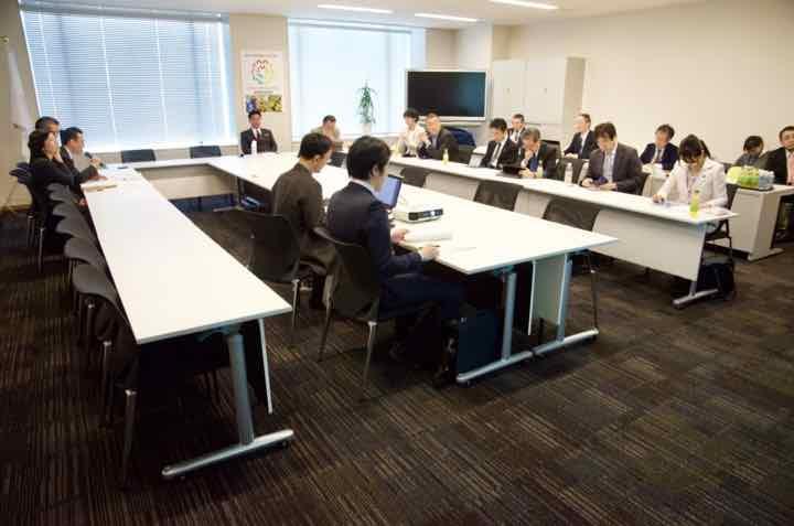 2018年12月18日(火)日本維新の会政調会 平成30年度補正・平成31年度予算案勉強会を開催しました。