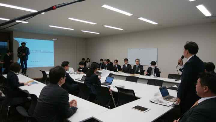 2019年1月23日(水)日本維新の会政務調査会「勤労統計不適切調査問題勉強会」