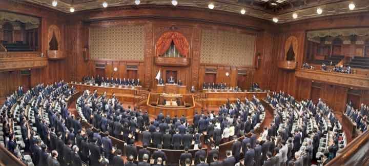 2019年2月26日(火)衆議院本会議にて「天皇陛下即位30年の賀詞」議決