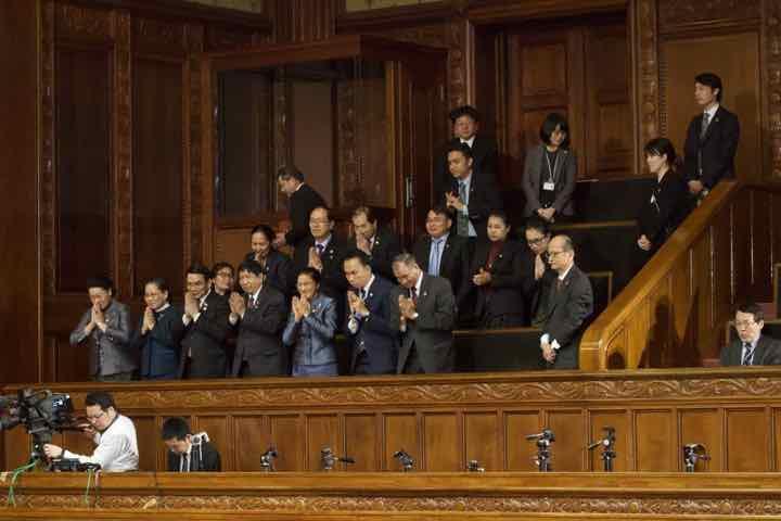 2019年3月19日(火)衆議院本会議にて在外公館名称位置給与法案並びにIBRD加盟措置法案 衆議院可決のお知らせ