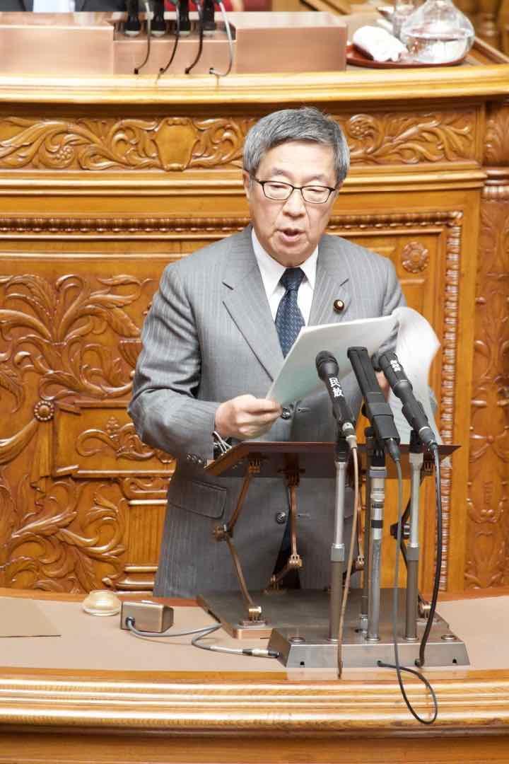 2019年3月8日(金)参議院本会議にて「天皇陛下即位30年の賀詞」を議決他