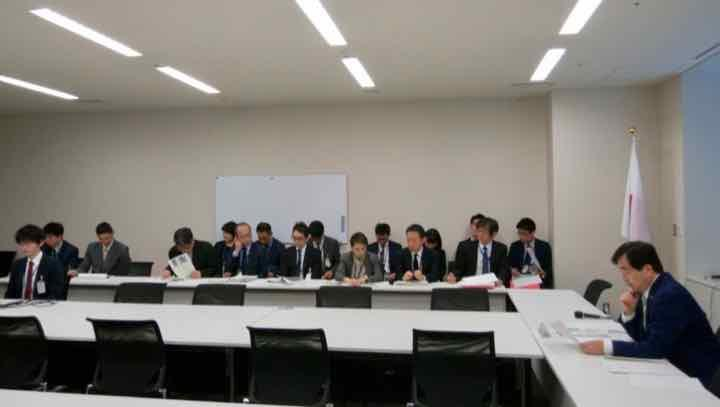2019年4月12日(金) 日本維新の会政調会 外務部会ヒアリング開催のお知らせ