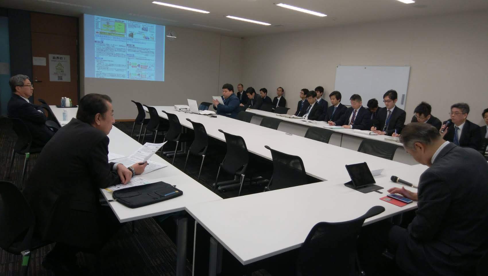2019年4月24日(水)日本維新の会政務調査会 国土交通並びに倫理選挙部会ヒアリング開催のお知らせ
