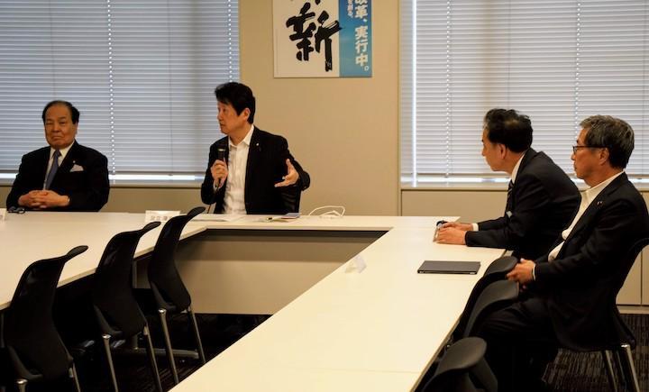 2019年5月13日(月)日本維新の会政務調査会 農林水産並びに法務部会ヒアリングおよび総務部会 開催のお知らせ