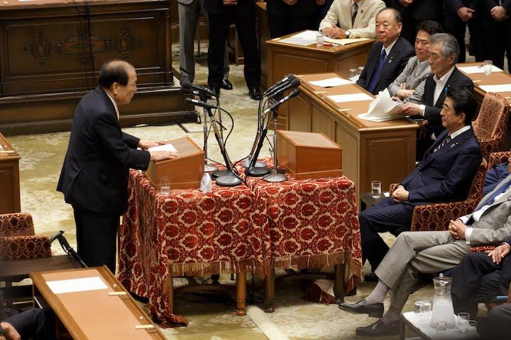 2019年6月19日(水)党首討論並びに参議院本会議開催のお知らせ