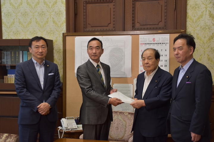 2019年6月20日(木)馬場伸幸幹事長定例会見並びに「麻生大臣戒告決議」案を参議院に提出