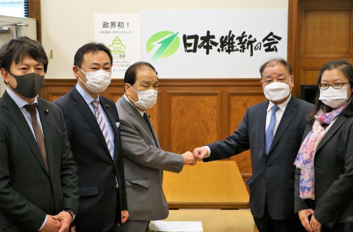 2021年3月2日(火)在日本大韓民国大使表敬訪問